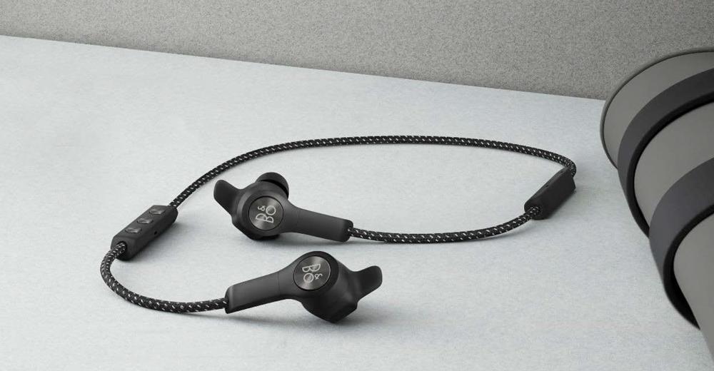 Beoplay E6 - Sort - Trådløse Earphones til aktiv livsstil