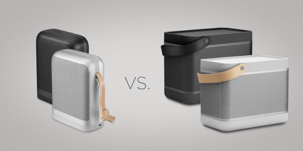 Beoplay P6 vs Beolit 17