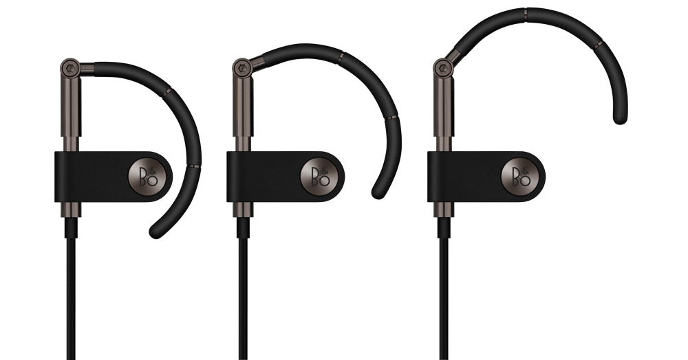 Earset Graphite Brown - Front x 3 - Forarbejdning
