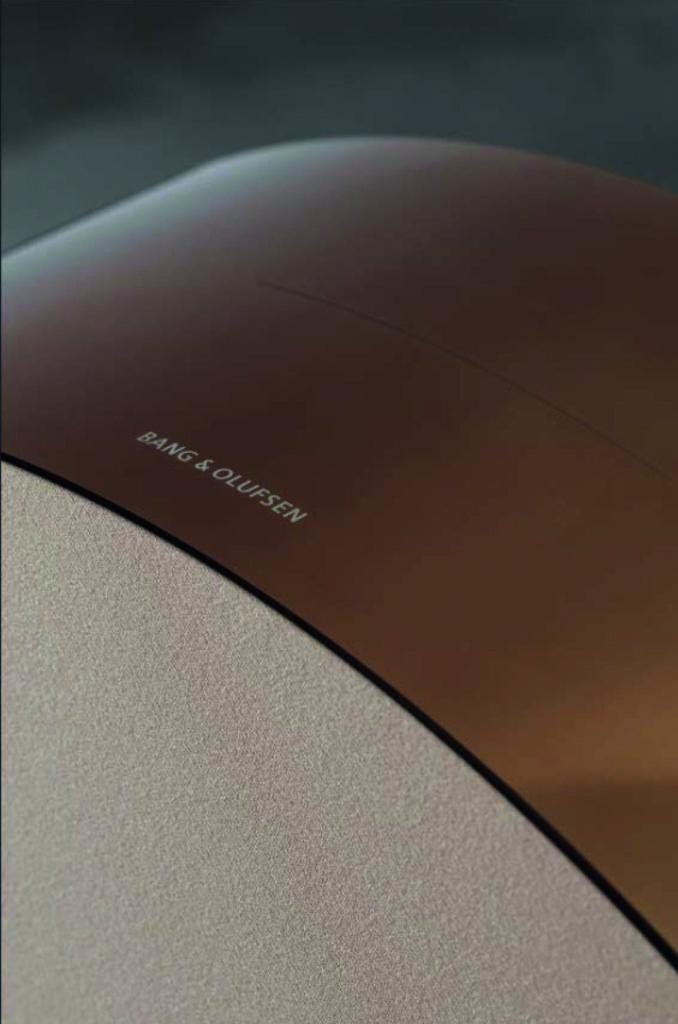 BeoSund Edge detail - Bronze Collection