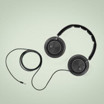 langt lydkabel til høretelefoner - Tilbehør - Produktbillede